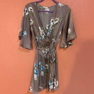 Mauve color dress